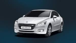 peugeot sedan peugeot 508 sedan receives hybrid4 diesel powertrain