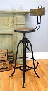 industrial metal bar stools with backs vintage industrial bar stools foter
