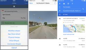 Google Maps App Multiple Destinations Workflow Review Integrated Automation For Ios 8 U2013 Macstories