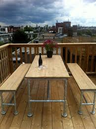Make Wood Patio Furniture by Best 25 Outdoor Tables Ideas On Pinterest Farm Style Dining