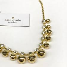 golden girl necklace images Kate spade jewelry nwt golden girl mini necklace poshmark jpg