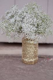 Rustic Vases For Weddings 68 Baby U0027s Breath Wedding Ideas For Rustic Weddings Deer Pearl