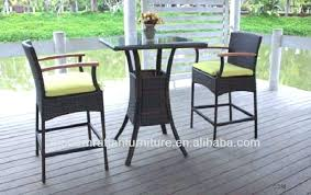 High Patio Chairs High Patio Table For High Patio Set With Wicker Patio