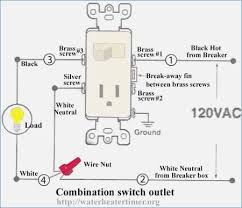 combination switch receptacle wiring diagram fasett info