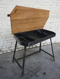 u bureau bureau style industriel en mtal et bois bureau style