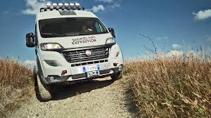 offroad camper fiat ducato 4x4 expedition off road camper van youtube