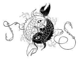 japanese create orange koi fish design tattooshunter com