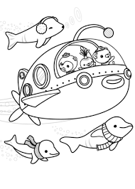 octonauts explore coloring free printable coloring pages