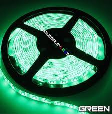 Auto Led Light Strips 5050smd Green Super Bright Flexible Led Light Strip 16 Ft Reel Kit