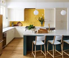 is green a kitchen color kitchen color trends green and yellow combine to make a