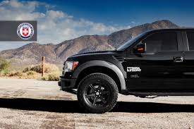 Ford Raptor Truck Black - ford raptor with hre tr46 in satin black hre performance wheels