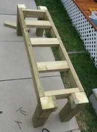 Wood Bench Designs Plans Bench For Porch Garden Real Easy Think I Will Paint Mine Diffent