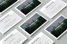 Business Card Design Template Free Free Creative Nature Artists Business Card Design Template