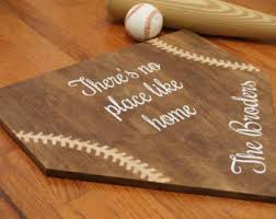 plate guest book size home plate baseball guest book initial home