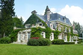 french country estate country house face off english manor vs french estate