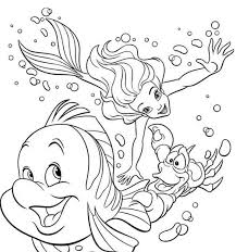 coloring pages of the little mermaid 83 best dibujos images on pinterest drawings coloring sheets