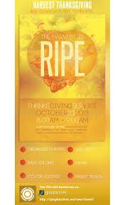 church harvest thanksgiving service flyer psdbucket