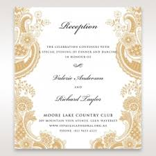 wedding reception invitation wedding reception invitations to match your theme