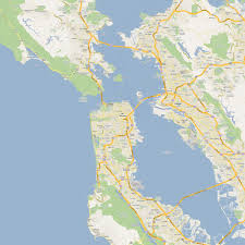 San Francisco Public Transit Map by Urban Cartography Spur