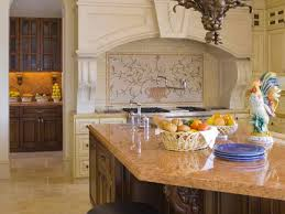 french kitchen backsplash french kitchen design ideas gas cooktop butcher block countertop