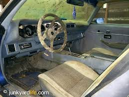 1981 Camaro Interior Junkyard Life Classic Cars Muscle Cars Barn Finds Rods And