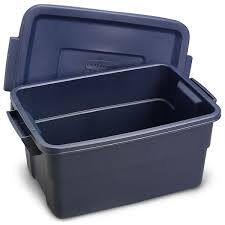 3 gallon rubbermaid roughneck storage container