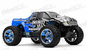 nitro rc monster truck for sale monster truck radio 1 10 2 4ghz exceed rc infinitive nitro gas