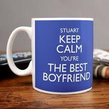 mug design for him personalised keep calm you re the best boyfriend mug card factory