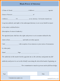 Power Of Attorney To Sign Documents by 7 Power Of Attorney Form Free Download Pdf Ledger Paper
