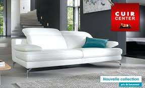 canape cuir 2 places cuir center canape convertible 2 places cuir