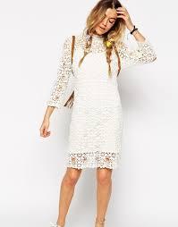 white crochet dress photo album best fashion trends and models