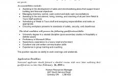 sample retail store manager resume resume example retail store manager resume examples retail