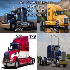 kenworth truck models ats default truck models for ets2 studio v1 6 american truck