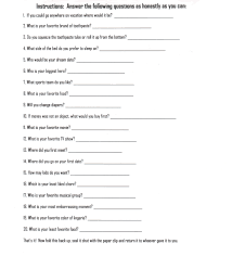 bride and groom questions for shower