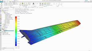 simcenter 3d structural performance analysis on wing design