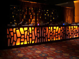 bar decor lighted bars outstanding productions blog