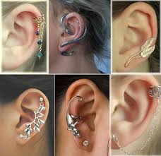 awesome cartilage earrings amazing cartilage piercing ideas which one do you like the most