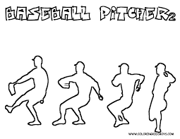 frugallivingcoach baseball pitcher sport coloring pages