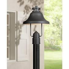 dark sky compliant post lights bayport collection dark sky 15 1 4 high outdoor post light style