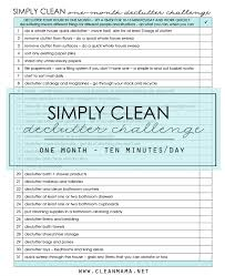simply clean declutter challenge clean mama