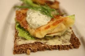 cuisine danoise smørrebrød tartine danoise au filet de poisson crème aux