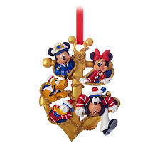 Cruise Ornament Captain Mickey Mouse And Crew Ornament Disney Cruise Line Disney