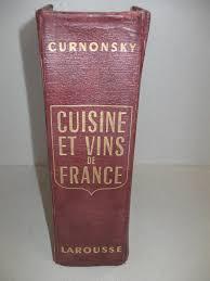 curnonsky cuisine et vins de cuisine et vins de text in by curnonsky librairie