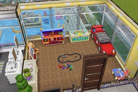 house 2 2nd floor infants room boy sims freeplay house