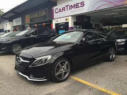 mercedes amg c200 all mercedes c200 coupe amg line for sale singapore