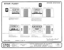 enterprise 1701 bridge blueprints