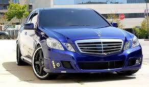 blue mercedes blue mercedes blue mercedes w212 transformers 3 cars 2