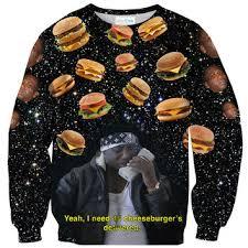 gucci mane sweater cheeseburger x gucci mane sweater from shelfies meme