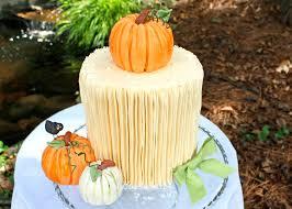 how to make a pumpkin cake topper free tutorial my cake