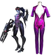 aliexpress com buy ow game amelie lacroix widowmaker cosplay